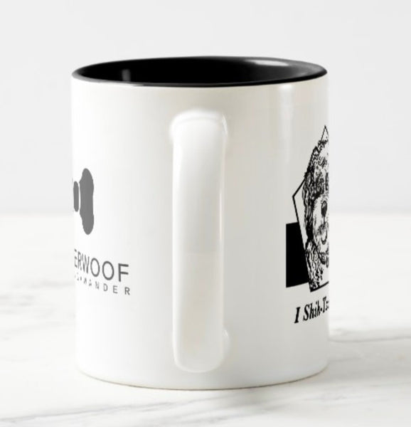 WonderWoof Shih Tzu mug side view