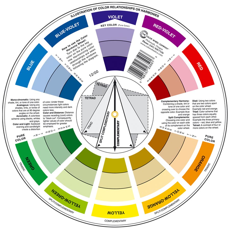 FREE-Color Wheel $25