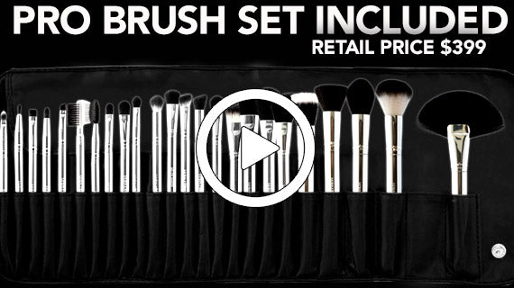 FREE-Makeup Brush Set $399