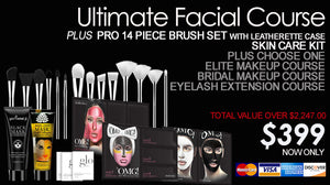 "Anniversary Special Promotion ""Ultimate Facial Course"" down $100 \ balance $299"
