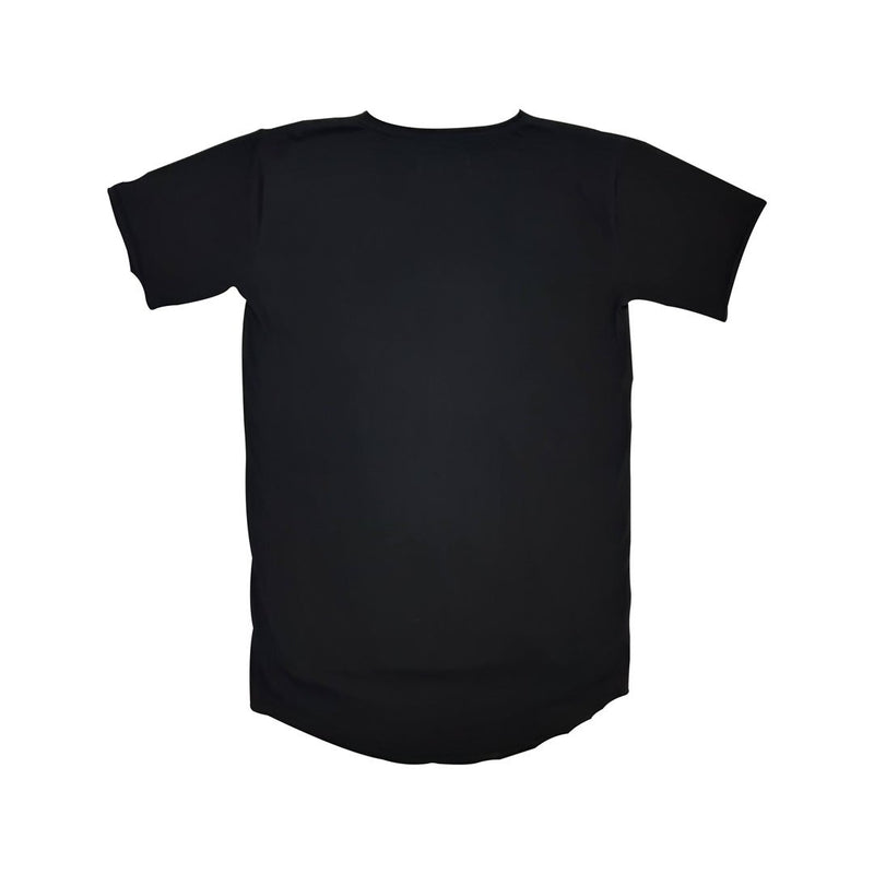 0 Adults Basic Tee Black Tees + Tanks sunny+finn australia kids