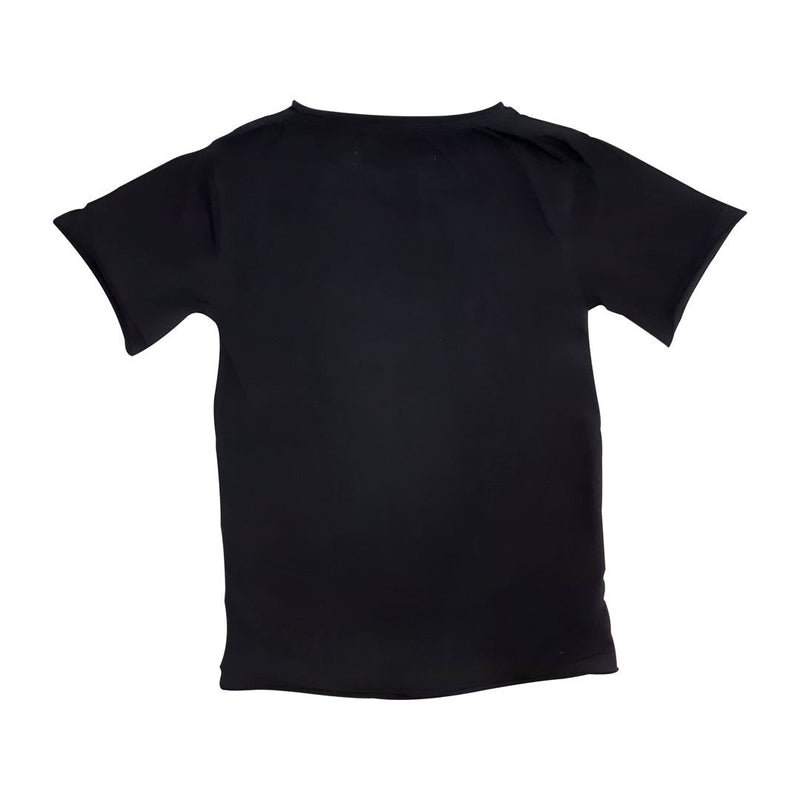 0 Basic Tee Black Tees + Tanks sunny+finn australia kids