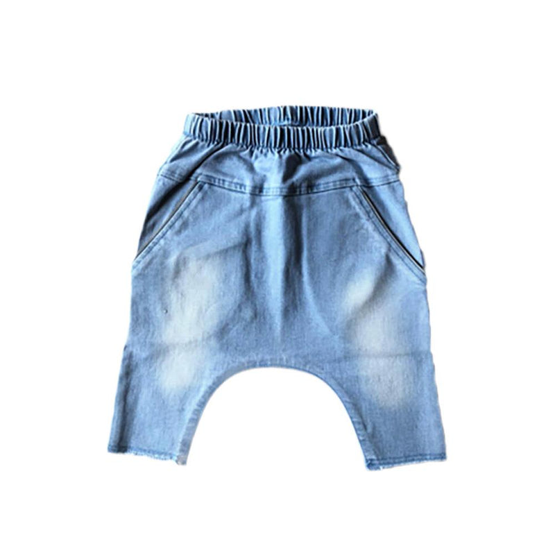 ARTIE HAREM SHORTS BLUE Pants + Shorts Staple australia kids