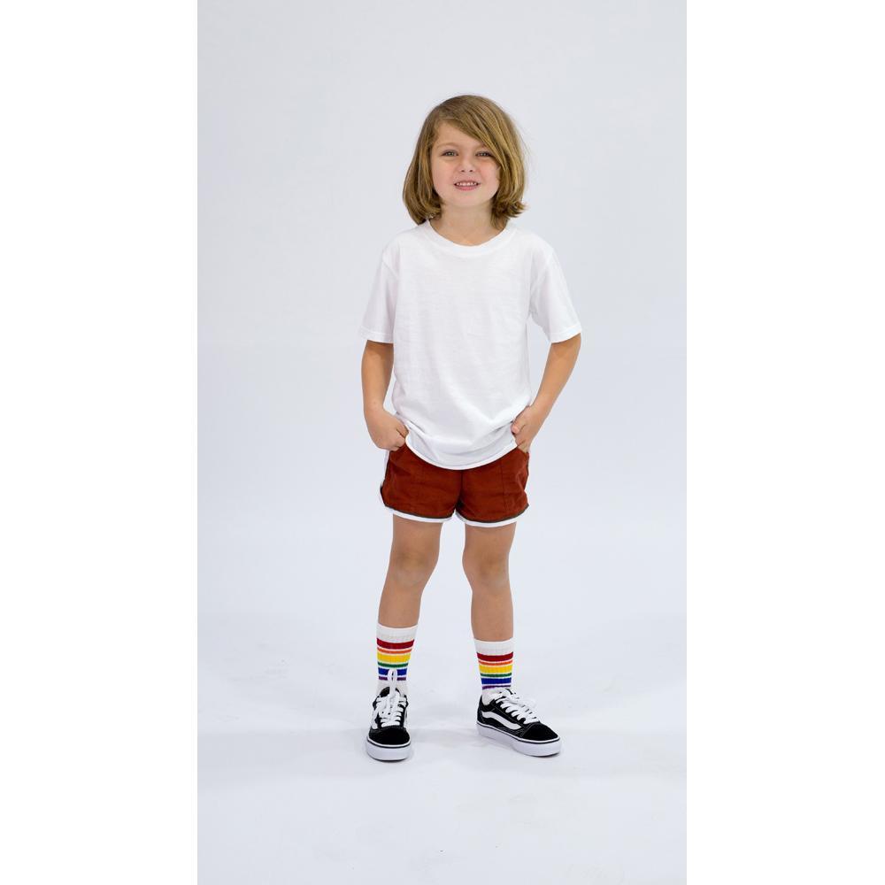 CALI SHORTS TERRACOTTA Pants + Shorts sunny+finn australia kids