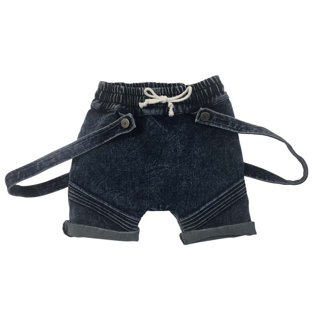 DASH HAREM SHORTS DARK BLUE Pants + Shorts DROP ONE 1-2 australia kids