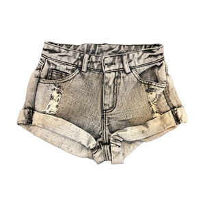 KENZIE SHORTS ACID WASHED BLACK Pants + Shorts sunny+finn 1-2 australia kids