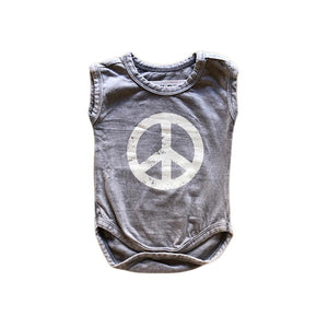 New Peace Out Onesie sunny+finn australia kids