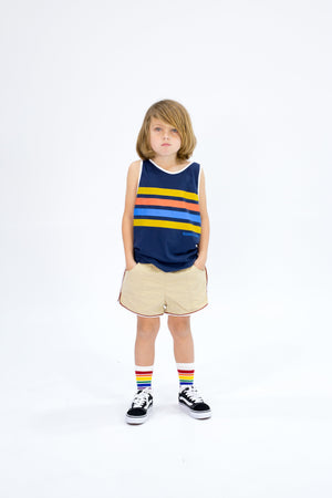 ORTON STRIPED TANK Tees + Tanks sunny+finn 1-2 australia kids
