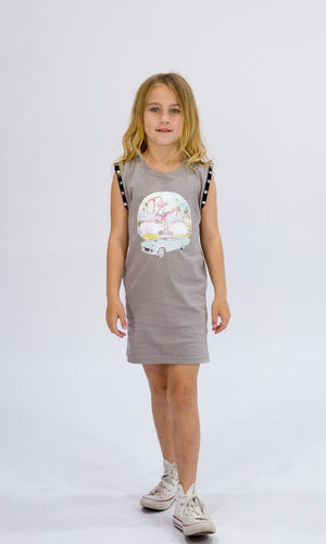 PALM SPRINGS DRESS Dresses + Skirts sunny+finn australia kids