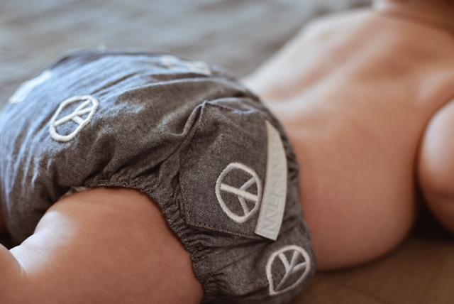 Peace Minky Bloomers Pants + Shorts sunny+finn australia kids