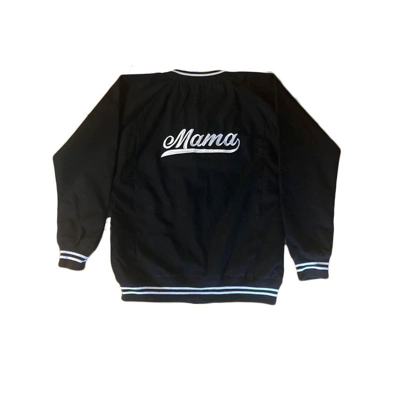 Personalised Adults Black Bomber Jacket JACKETS + JUMPERS sunny+finn Personalised Adults Black Bomber Jacket S australia kids