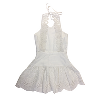 SAGE DRESS WHITE Dresses + Skirts DROP ONE 1-2 australia kids