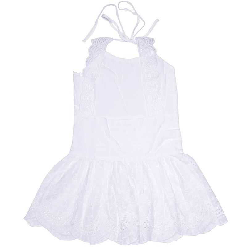 SAGE DRESS WHITE Dresses + Skirts DROP ONE 6-7 australia kids