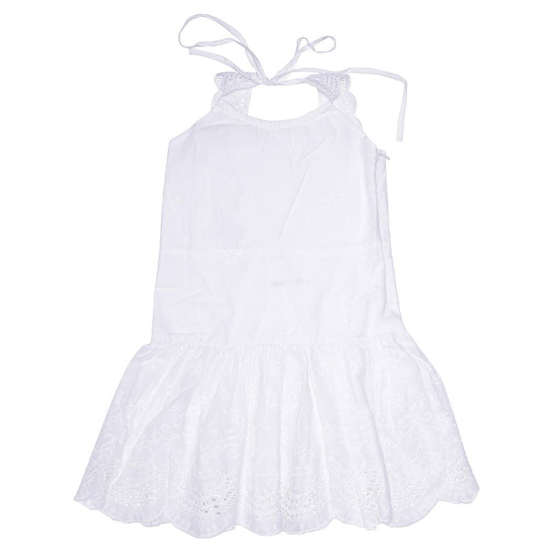 SAGE DRESS WHITE Dresses + Skirts DROP ONE australia kids