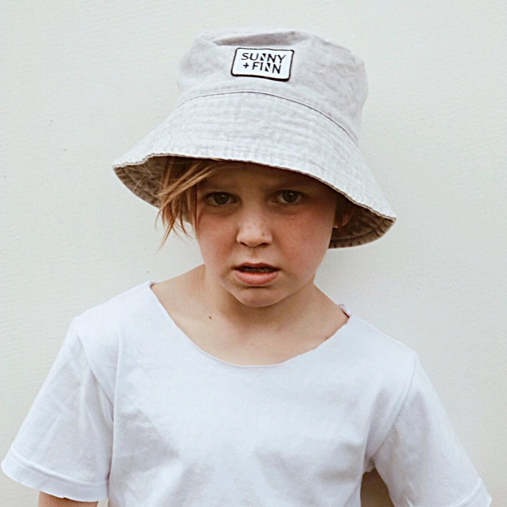 Stevie Bucket Hat Accessories sunny+finn S australia kids