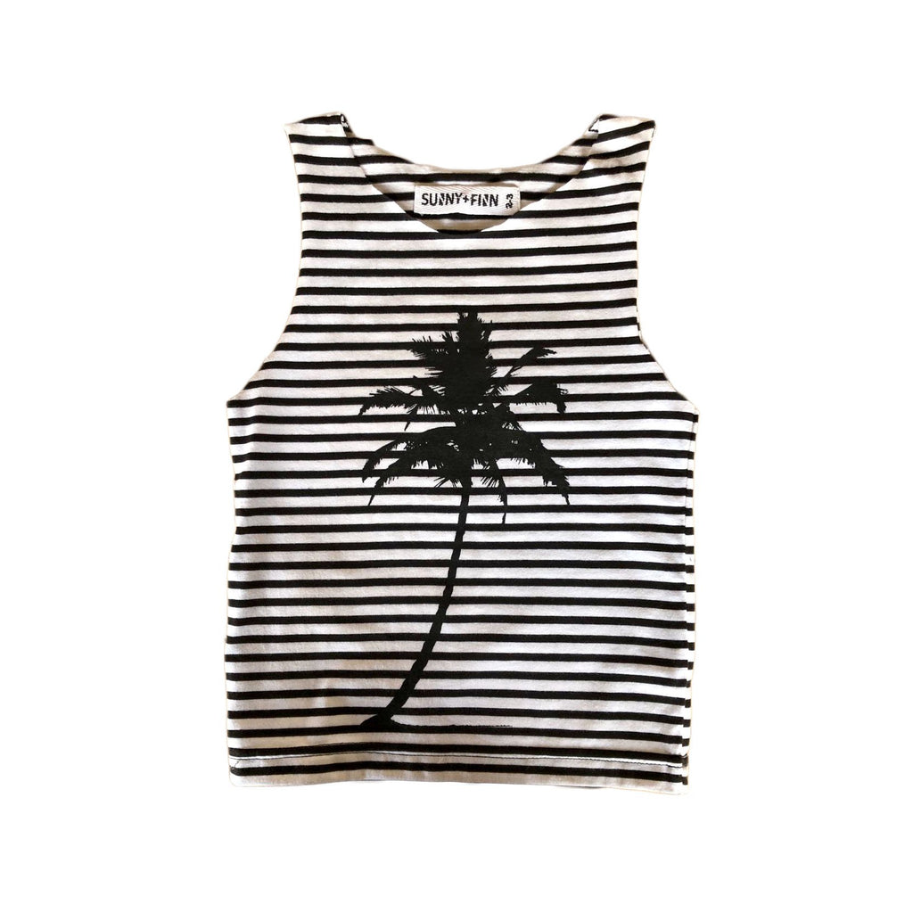 Under The Palms Tank Stripes Tees + Tanks sunny+finn 1-2 australia kids