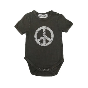 Willow Keep The Peace Onesie Onesies + Rompers sunny+finn 0-6 months australia kids