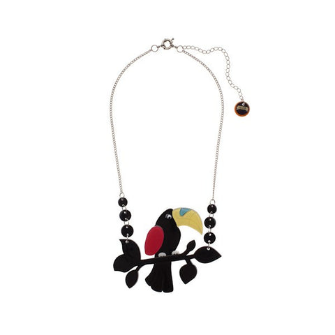 Erstwilder Talulah Toucan - Necklace, Brooch AND Earrings!