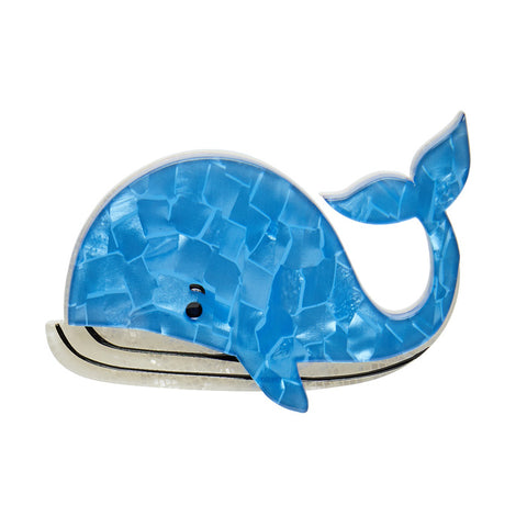 Erstwilder Wesley the Whale Brooch - NEW 2017