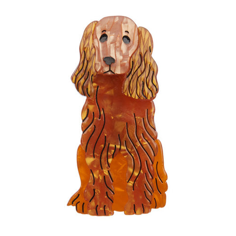 Erstwilder Dog Brooch - Spaniel - Best in Show - Early One