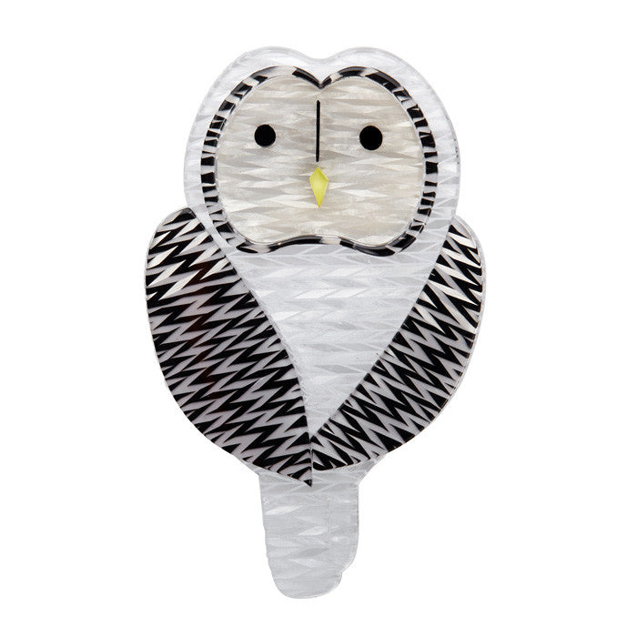 Erstwilder Owl Brooch - Call of the Ural