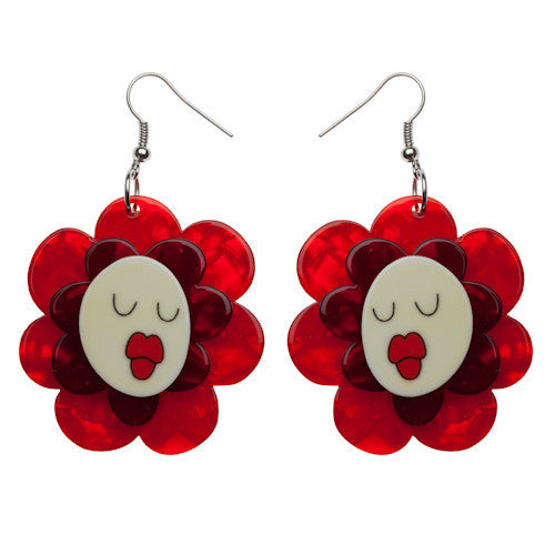 Erstwilder Earrings - Helen's Humming Flowers