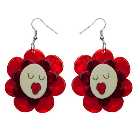 Erstwilder Flower Earrings - Helen's Humming Flowers