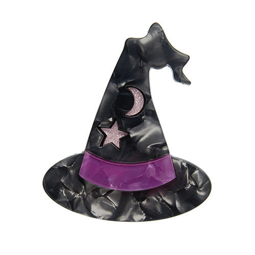 Erstwilder Halloween Brooch - Hocus Pocus - Witch's Hat