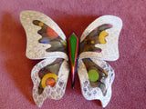Lea Stein Elfe the Butterfly - Large - Silver