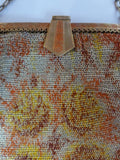 Art Deco Clasp of Mesh Purse