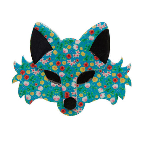Erstwilder Animal Brooch - Brida the Botanical - Fox