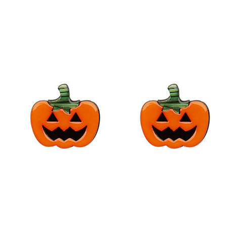 Erstwilder Halloween Earrings - Jack O'Lanterns - Pumpkins