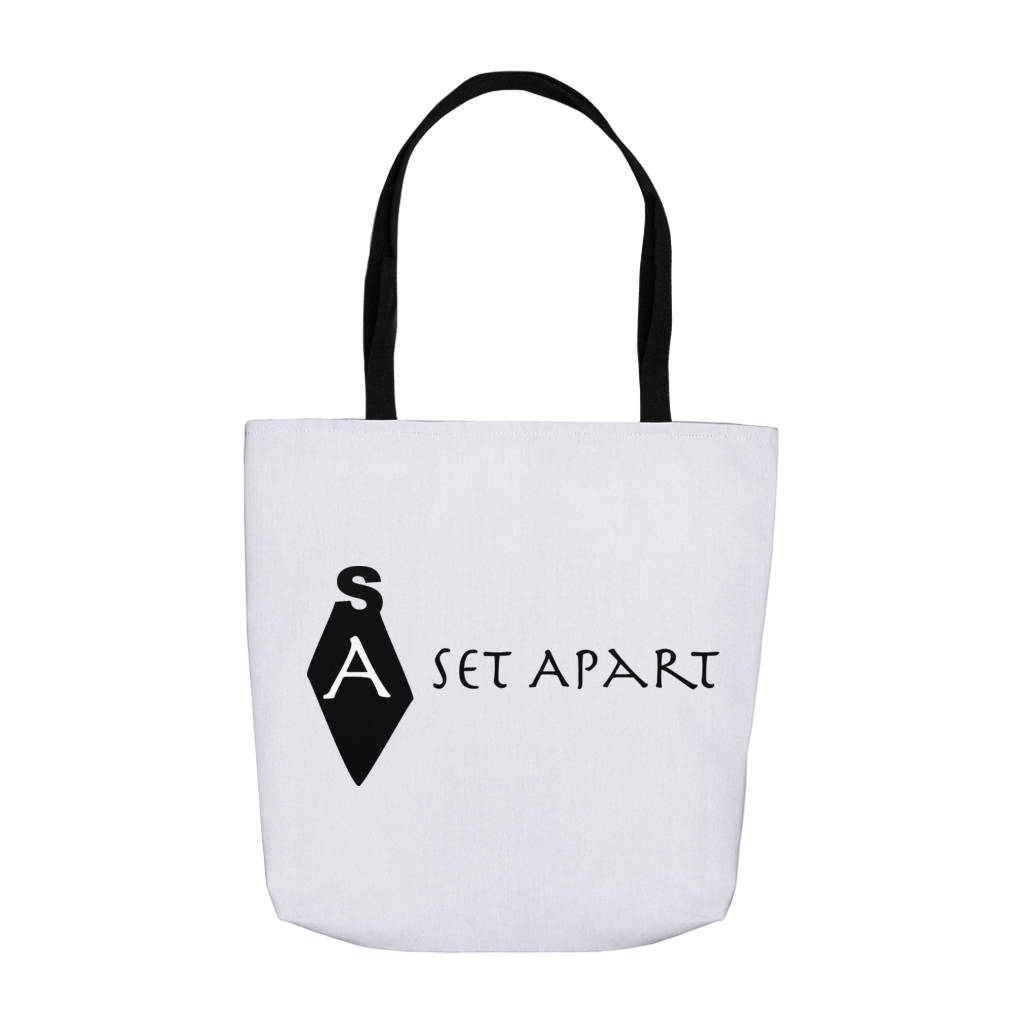 Set Apart Logo Tote Black