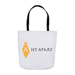 Set Apart Logo Tote Bag Gold