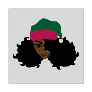 Black Girl Santa AKA Cloth Napkins