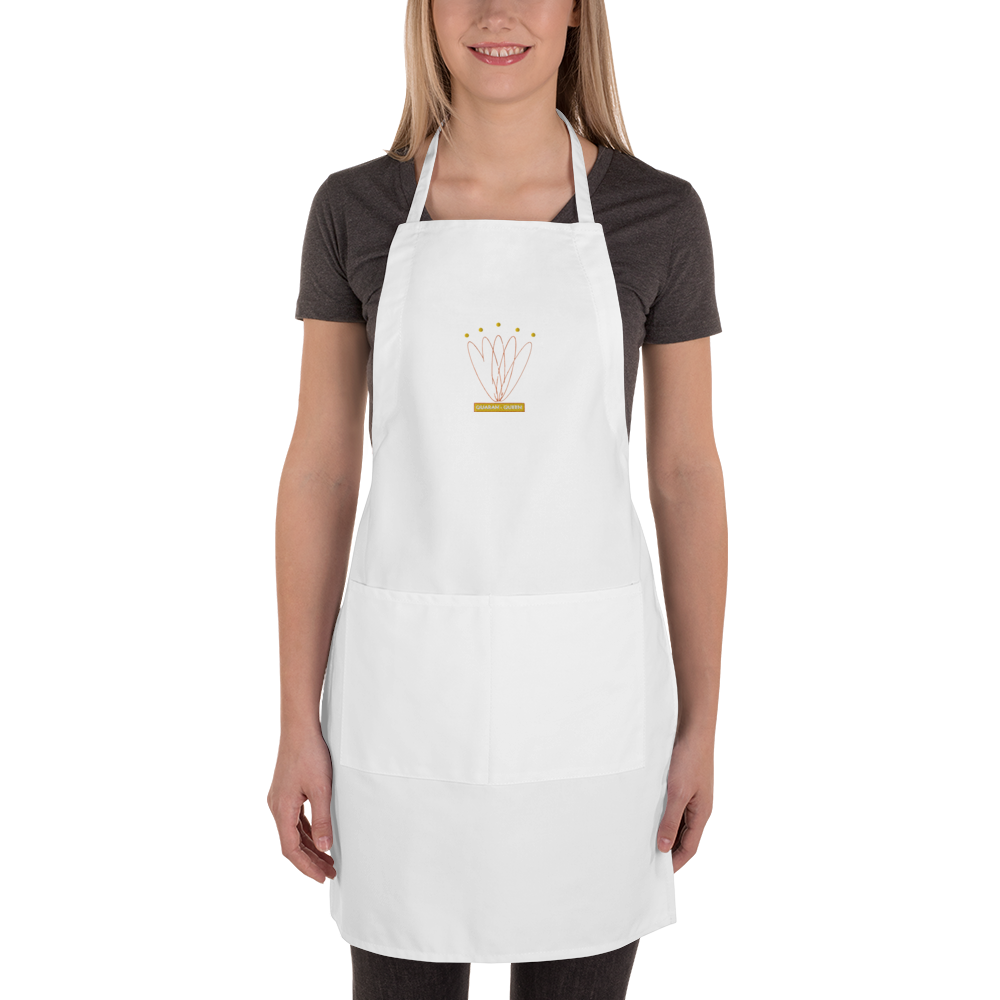 Quaran Queens Embroidered Apron
