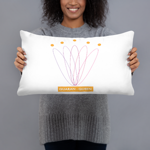 Quaran Queens Pillow