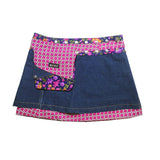 Apple Mousse Denim Short Reversible #1