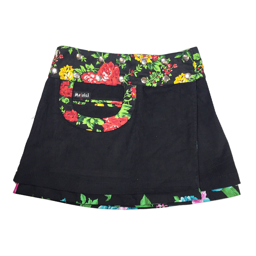 Bagel Corduroy Short Reversible