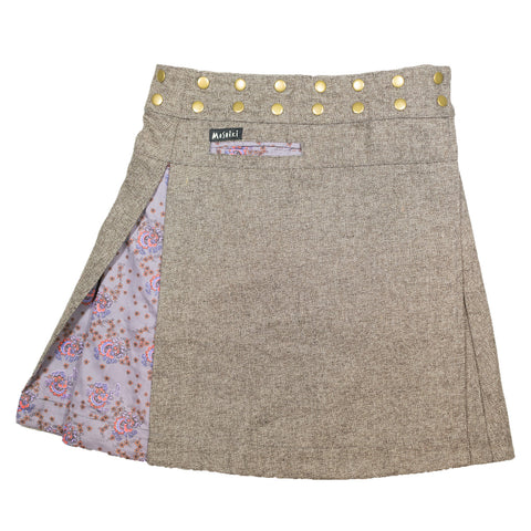 Sugar Free Tweed Long Reversible #6