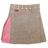 Sugar Free Tweed Long Reversible #7