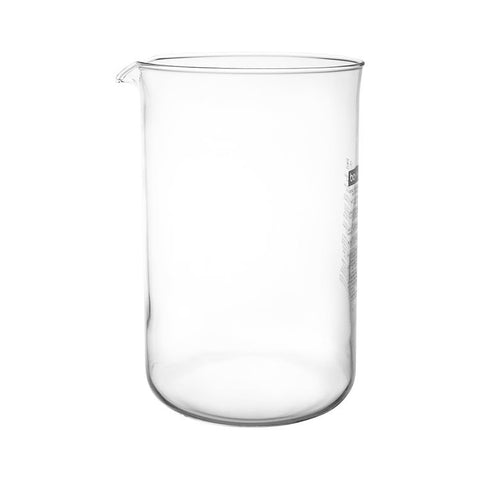 Spare, glass for 12 cup plunger
