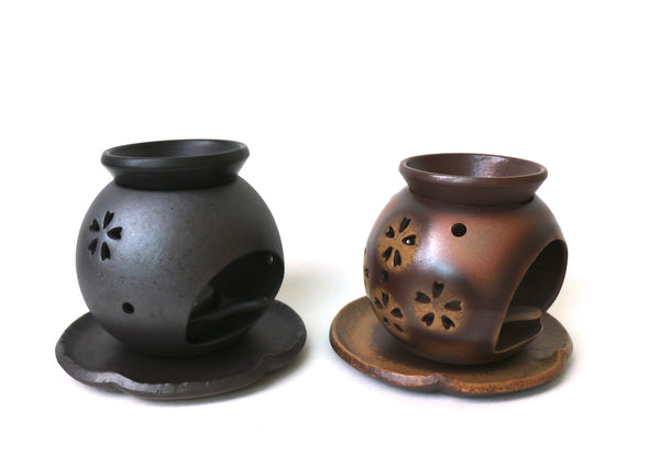 Cha Koro Tokoname - Tea-Incense Burner (Brown / Iraba)