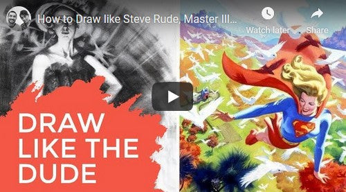 PRACTICE LIKE A PRO - Featuring Steve Rude! 1 of 2