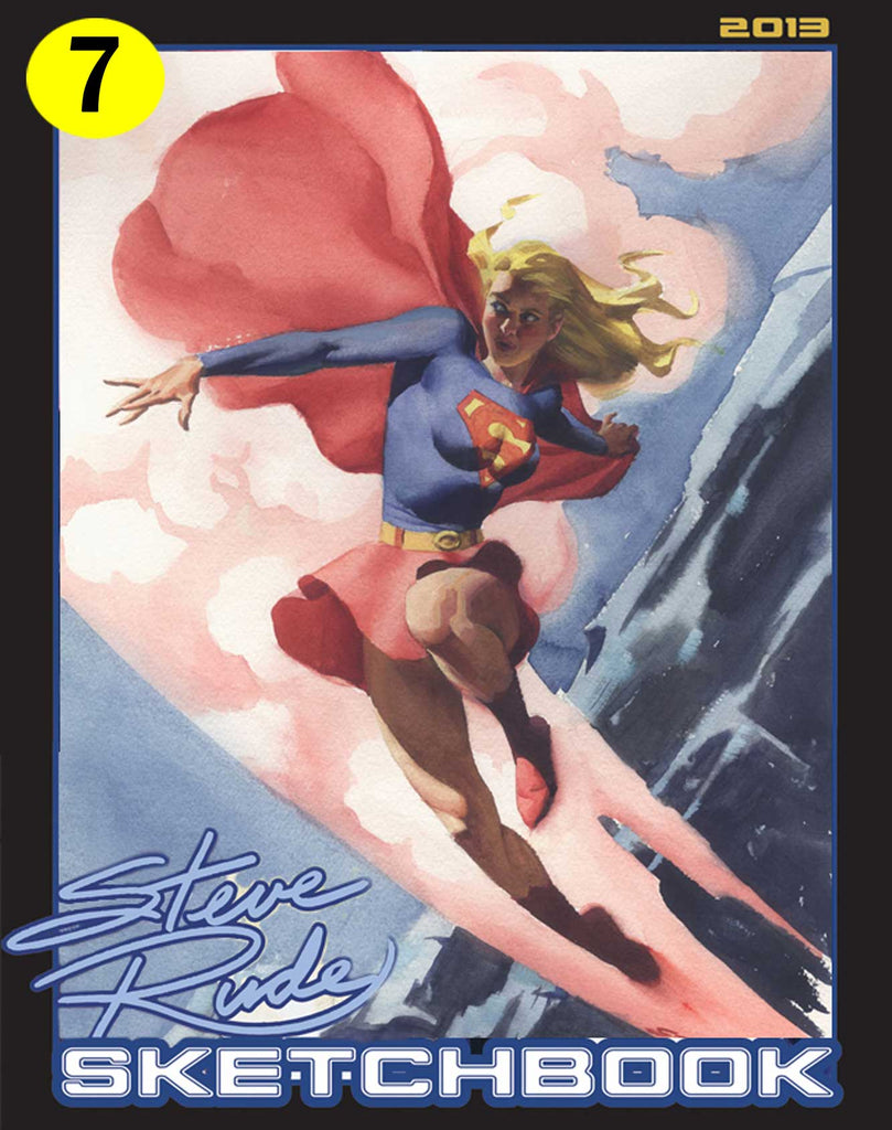 2013 Sketchbook - (7) Supergirl 2