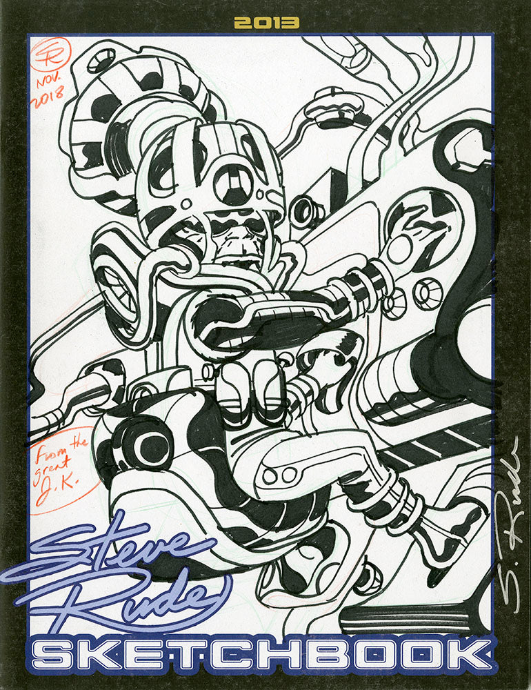 2013 Sketchbook -  Original Art Cover 2