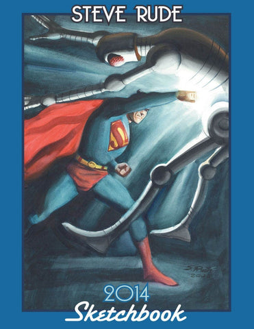 2014 Sketchbook - Superman Cover