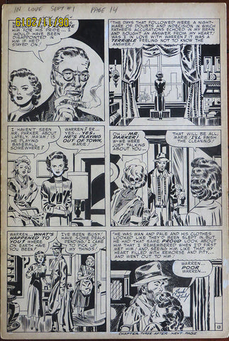 Jack Kirby IN LOVE September #1 Page 14