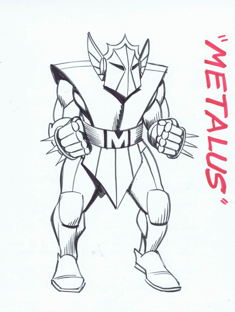 Metalus Copic Marker Sketch of the Day #27