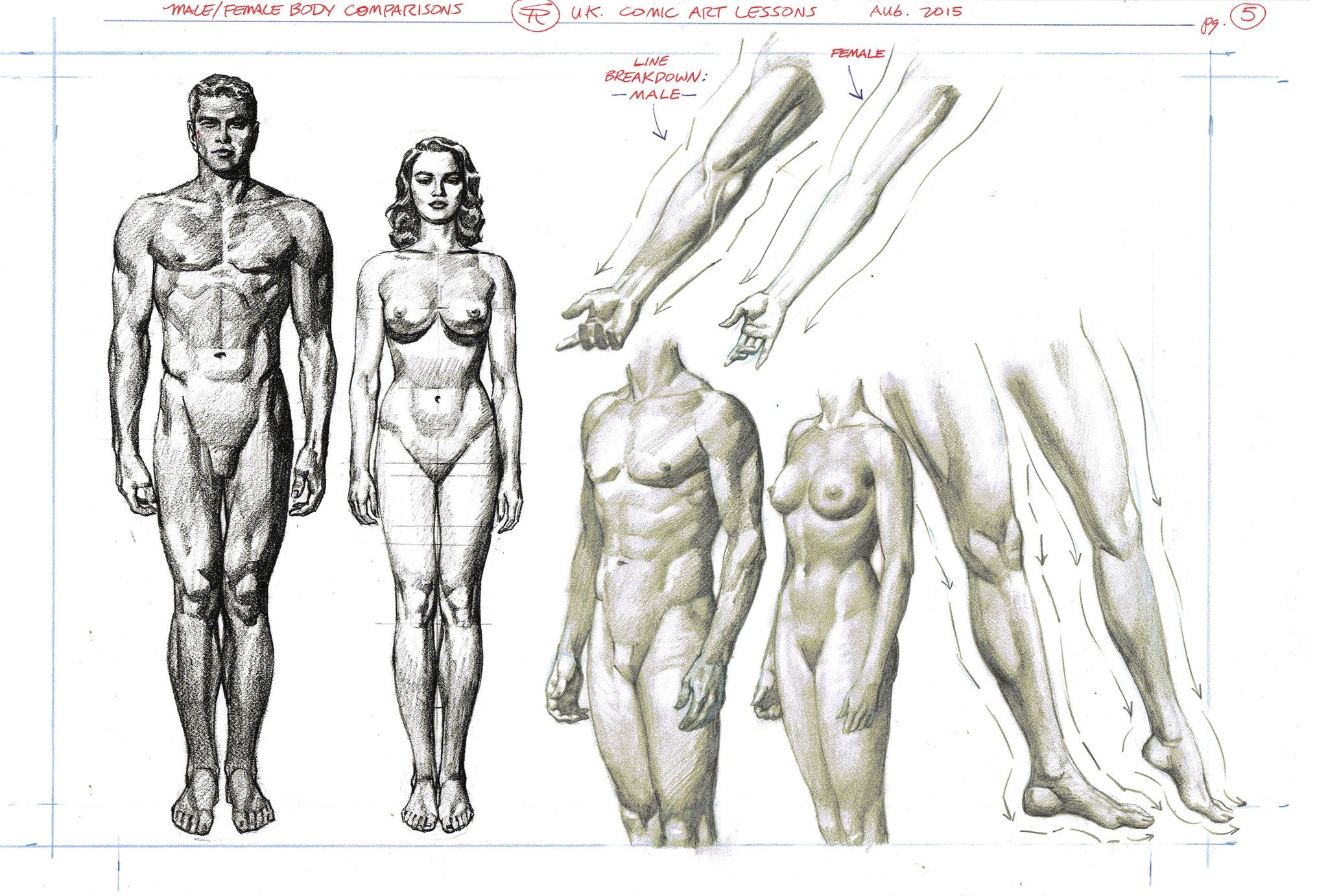 3D Total Beginners Guide to Comic Art Page 5